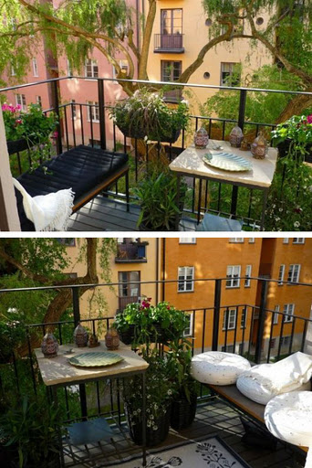 Miglioriamo i nostri balconiour balcony is a privileged for Arredare terrazzi piccoli